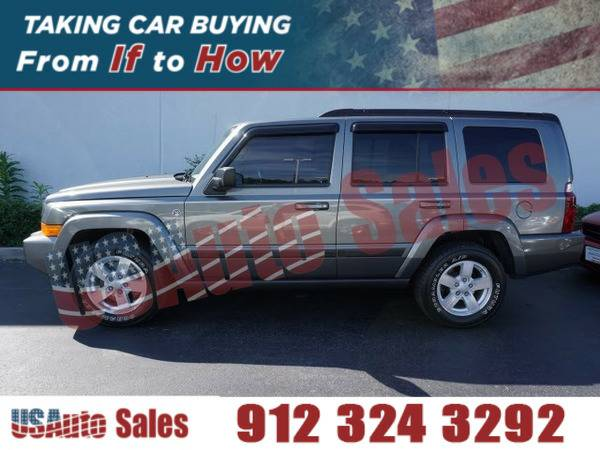 2007 JEEP COMMANDER SPORT GRAY