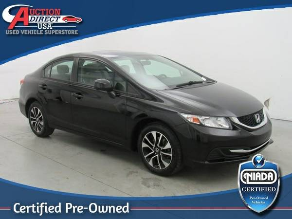 **2013 Honda Civic EX..low miles..low payments and downpayments**