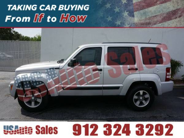2008 JEEP LIBERTY SPORT SILVER