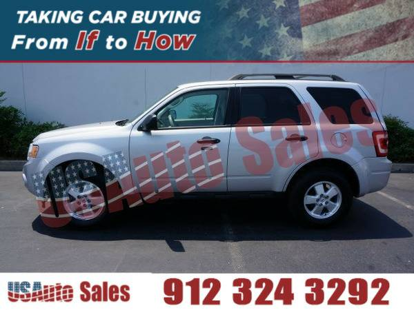 2011 FORD ESCAPE XLT SILVER