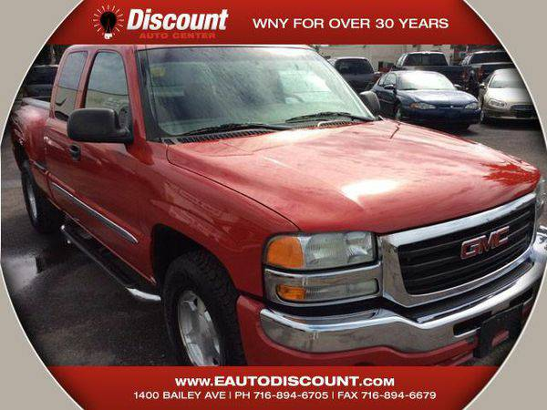 2004 *GMC* *Sierra* *1500* Work Truck Ext. Cab Short Bed 4WD -☎&