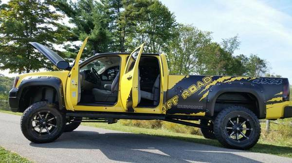 Gmc Sierra 3500 Hd DURAMAX DIESEL LIFTED 4WD