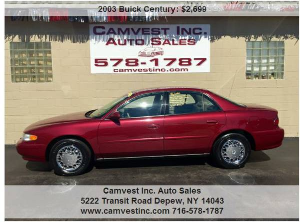 2003 Buick Century 96K