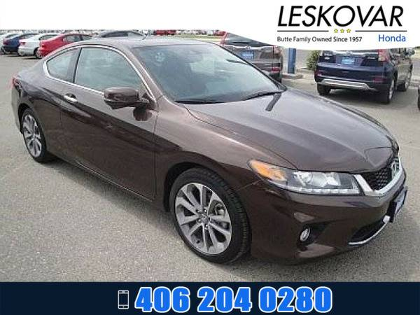 *2015* *Honda Accord Coupe* *2dr Car EX-L* *Tiger Eye Pearl*