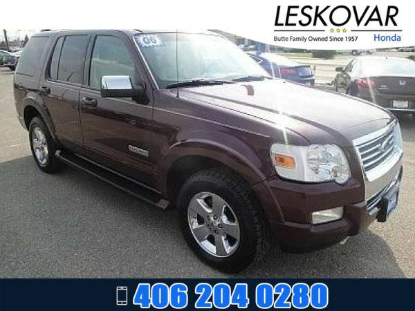 *2006* *Ford Explorer* *Sport Utility Limited* *Red*