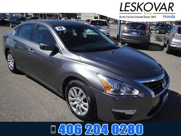 *2015* *Nissan Altima* *4dr Car 2.5 S* *Gun Metallic*