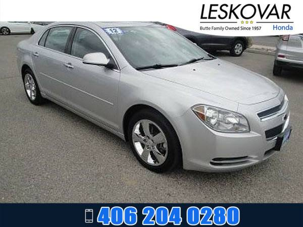 *2012* *Chevrolet Malibu* *4dr Car LT w/2LT* *Silver Ice Metallic*