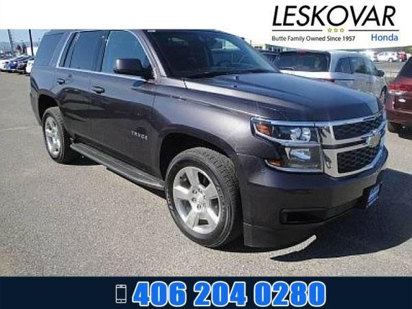 *2015* *Chevrolet Tahoe* *Sport Utility LT* *Dark Gray*