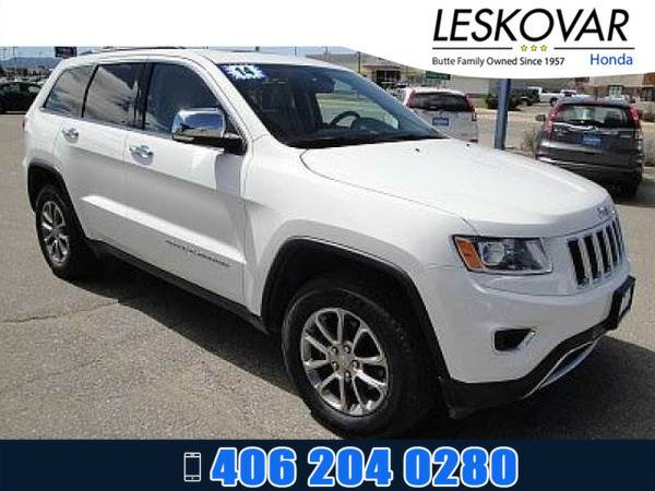 *2014* *Jeep Grand Cherokee* *Sport Utility Limited* *Bright White...