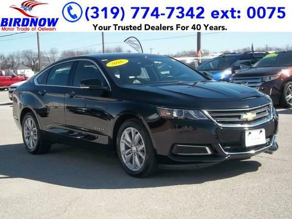 2016 *Chevrolet Impala* LT w/2LT (Black)