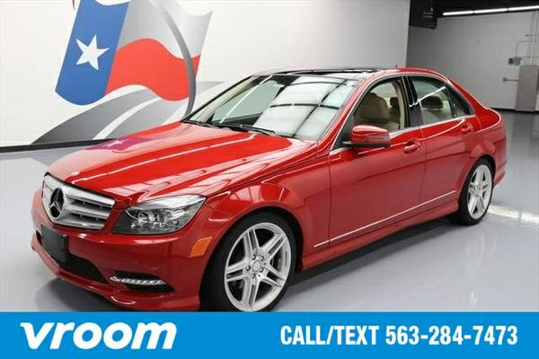 2011 Mercedes-Benz C-Class C300 Luxury 7 DAY RETURN / 3000 CARS IN STO