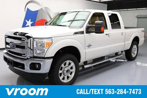 2016 Ford F-250 4x4 Lariat 4dr Crew Cab 6.8 ft. SB Pickup Truck 7 DAY