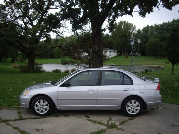 $4500--03 CIVIC EX--NEW TIMING BELT/HARD TO FIND UNIT/WARRANTY!