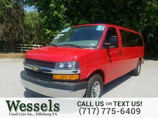 2012 Chevrolet Express Passenger Van Express Passenger Chevrolet