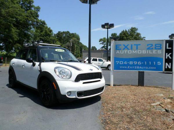 2012 *MINI* *Cooper* *Countryman* S 4dr Crossover - Affordable Finance