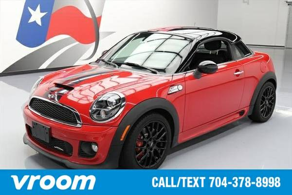 2013 MINI Coupe John Cooper Works 2dr Coupe Coupe 7 DAY RETURN / 3000