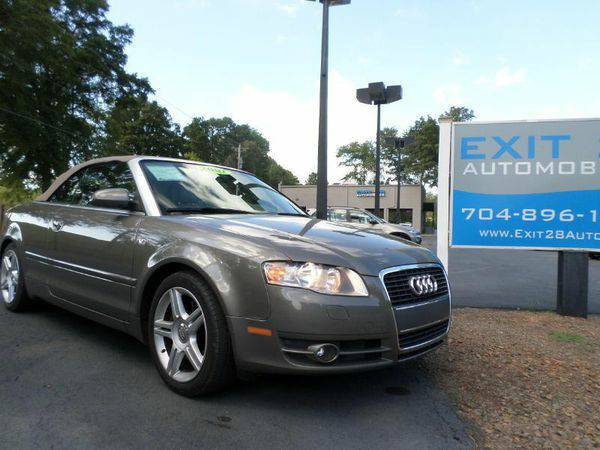 2007 *Audi* *A4* 2.0T 2dr Convertible (2L I4 CVT) - Affordable Finance