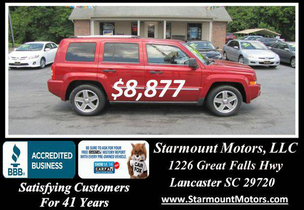 2008 *Jeep* *Patriot* Limited -GUARANTEED CREDIT APPROVAL!!!