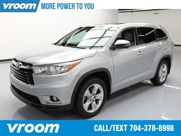 2015 Toyota Highlander Limited SUV 7 DAY RETURN / 3000 CARS IN STOCK