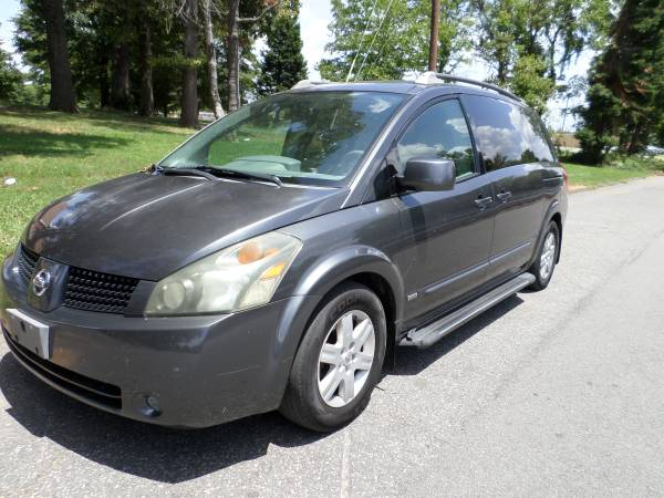 2006 Nissan quest 3.5 SE minivan leather DVD navigation rear camera