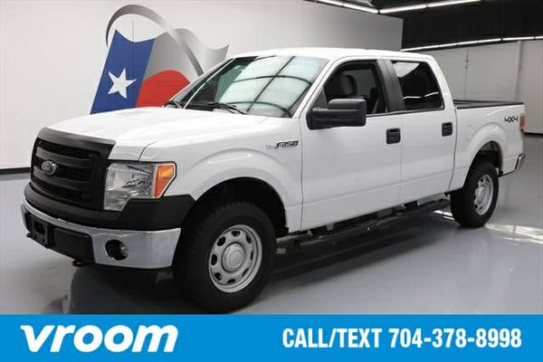 2014 Ford F-150 4x4 XL 4dr SuperCrew Styleside 5.5 ft. SB Truck 7 DAY