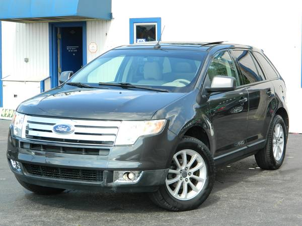 2007 FORD EDGE SEL LEATHER POWER SEATS SUNROOF BACK UP SENSORS