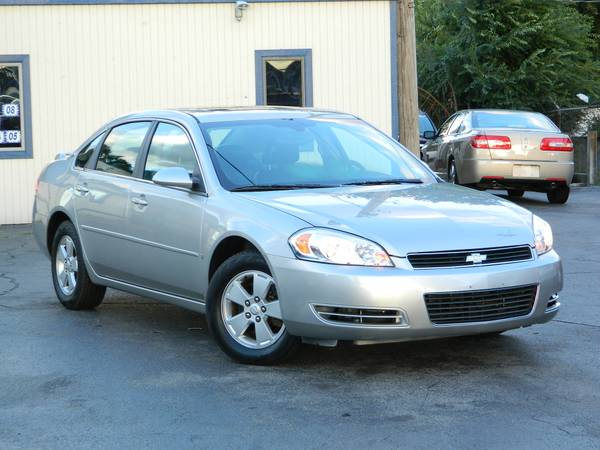 2008 CHEVROLET IMPALA LT SUNROOF HEATED SEATS LEATHER INTERIOR