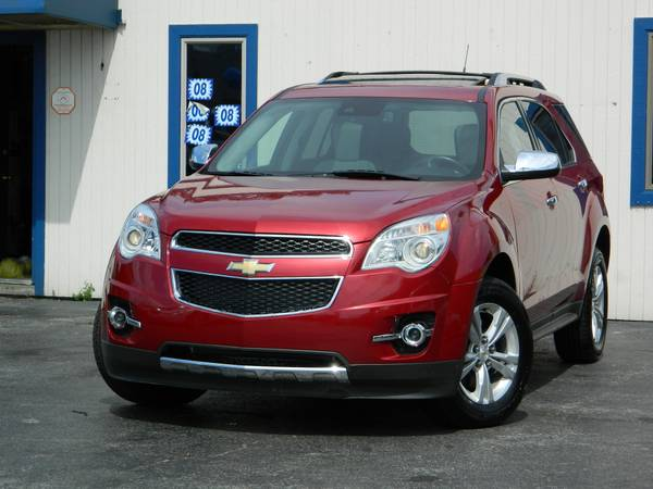 2013 CHEVROLET EQUINOX LTZ SUNROOF BACK UP CAMERA NAVI/SATELLITE