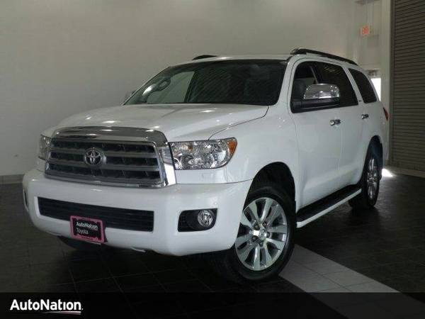 2012 Toyota Sequoia Limited SKU:CS059041 Toyota Sequoia Limited SUV