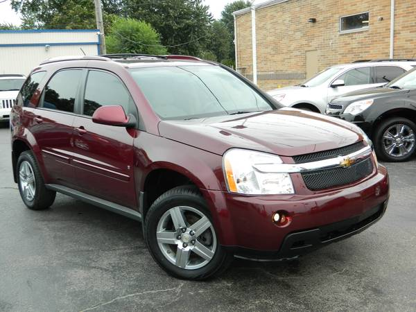 2009 CHEVROLET EQUINOX LT SUNROOF HEATED SEATS LEATHER