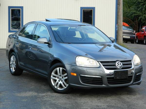 2006 VOLKSWAGEN JETTA 2.5 SUNROOF POWER WINDOWS HEATED SEATS LEATHER