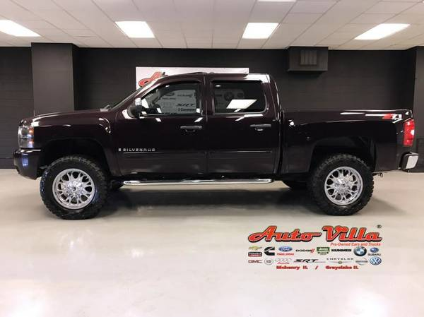 2008 CHEVROLET SILVERADO Z71 LIFTED K1500
