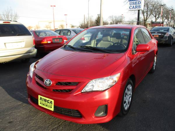 2011 Toyota Corolla LE 4 cylinder, 95k miles!ANY & ALL CREDIT APPROVED