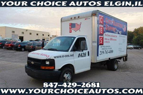 2006CHEVROLET G3500 EXPRESS 14FT CUTAWAY BOX TRUCK 1OWNER CLEAN 259710
