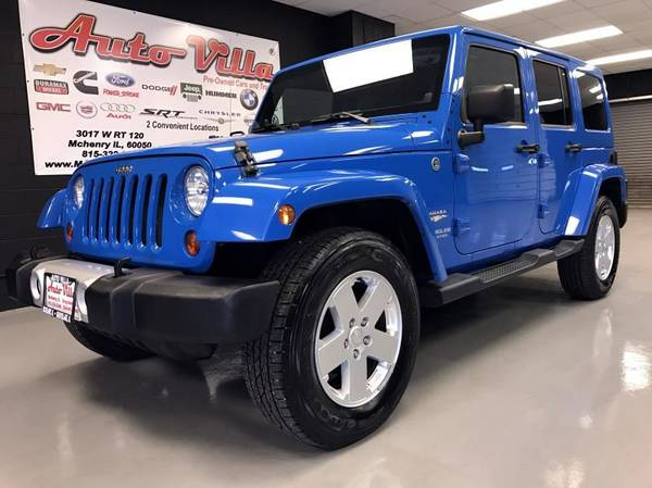2011 JEEP WRANGLER SAHARA---CALL BUTTERS @