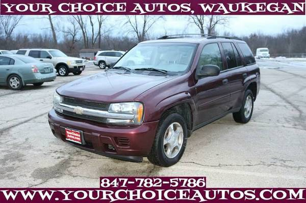 2006 CHEVROLET TRAILBLAZER LS 4WD SUV GR8 FOR SNOW CRUISE TOW 333727