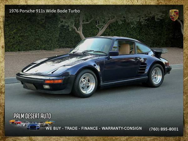 1976 Porsche 911s Wide Bode Turbo Slant Nose Steel 3.0 Sedan in GREAT
