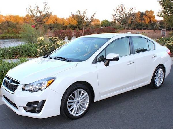 LOADED 2016 Subaru Impreza Limited PEARL White w/ Eye Sight 2k miles...