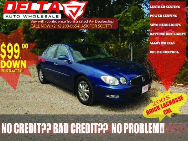 2005 Buick LaCrosse CXL: VISIT HERE FOR MORE CARS!! ONLY $99 DOWN!!