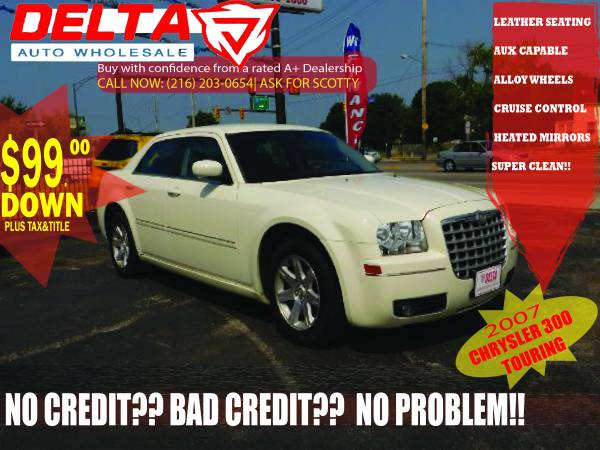 2007 Chrysler 300 Touring: VISIT HERE FOR MORE CARS!! $99 DOWN!! SAVE!