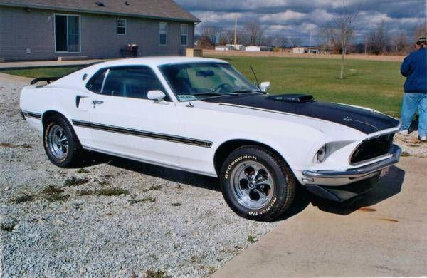 Used 1969 Ford Mustang Mach 1