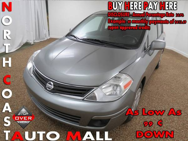 2012 Nissan Versa S -As Low As 99 ¢ DOWN
