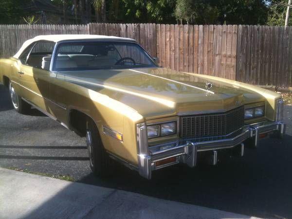 Used 1976 Cadillac Eldorado