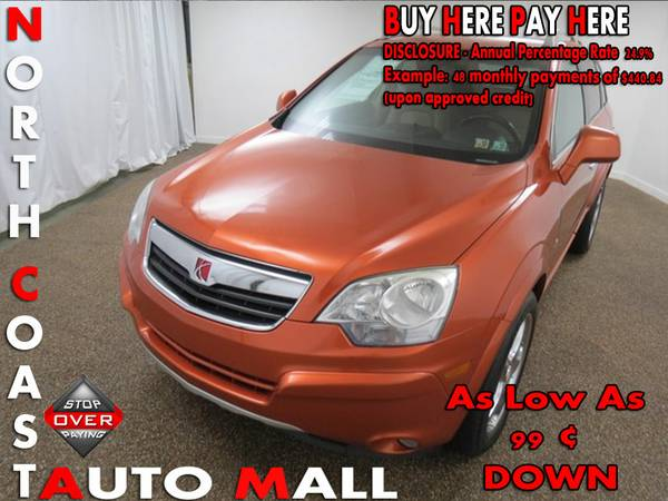 2008 Saturn VUE XR -As Low As 99 ¢ DOWN