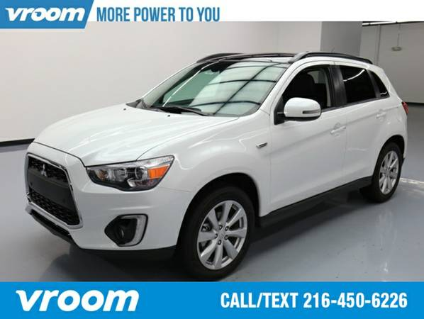 2015 Mitsubishi Outlander Sport 2.4 GT Wagon 7 DAY RETURN / 3000 CARS