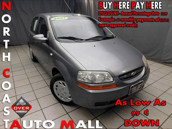 2007 Chevrolet Aveo LS -As Low As 99 ¢ DOWN