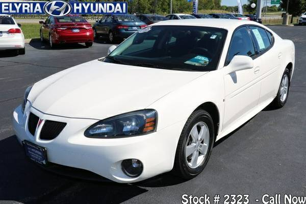 2007 Pontiac Grand Prix Base 4D Sedan