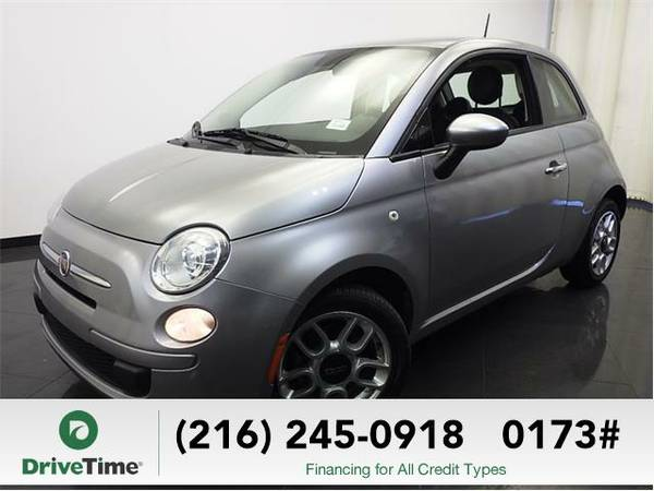 Beautiful 2015 *FIAT 500* Pop (SILVER) - Clean Title