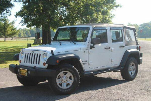 2012 *Jeep* *Wrangler* *Unlimited* Sport - Financing Available! No Has