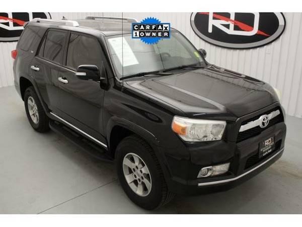 2013 *Toyota 4Runner* SR5 (Black)
